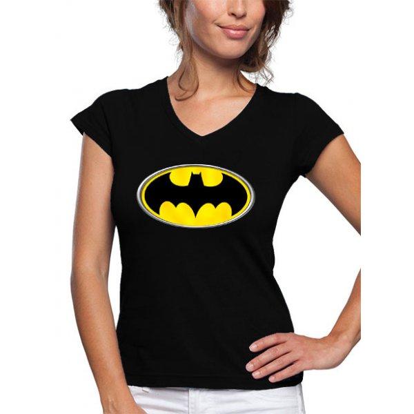 camiseta-de-chica-manga-corta-logo-batman