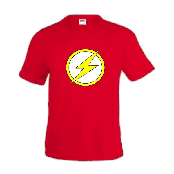 camiseta-de-the-flash-logo-clasico