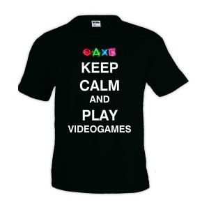 camiseta-keep-calm-and-play-videogames