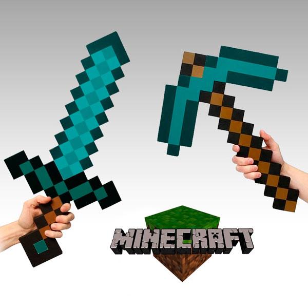 Espada-y-Pico-Diamante-Minecraft
