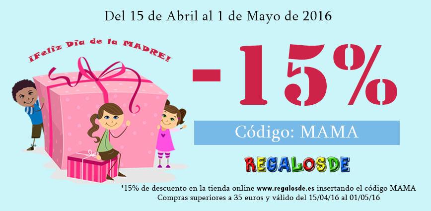 Descuento Día de la Madre Regalosde.es